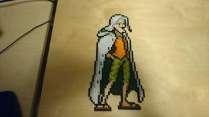 One Piece Character #69. Silvers Rayleigh by MagicPearls