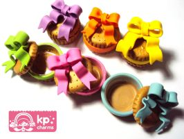 cookie ribbon boxes by KPcharms