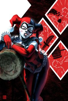 Sideshow Collectibles: Harley Quinn by FabianMonk