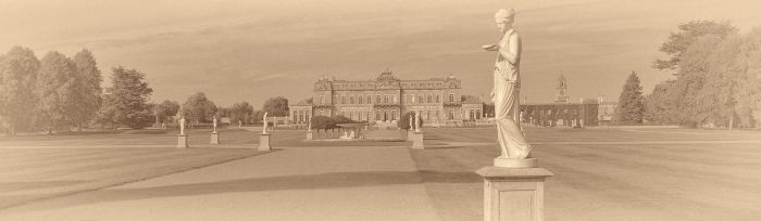 The lady is waiting....Wrest park 2013 by yatesmon