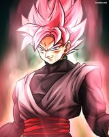 Rose Black Goku (Dragonball Super) by TomislavArtz
