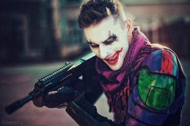 Armored Joker by beethy