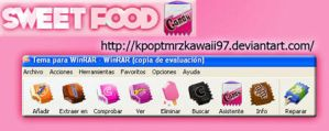 Sweet Food WinRAR theme by KpopTmrzkawaii97