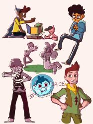Camp Camp sketches by AkoAndMe