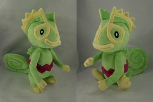 Kecleon Plush by makeshiftwings30