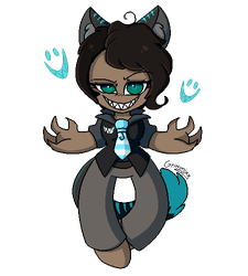 :[Commission] Pixel Cheshire Cat: by Grimmixx