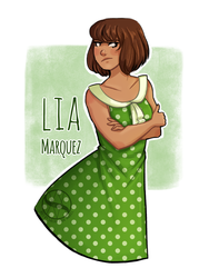 AT: Lia Marquez by SachiiA