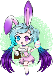 Chibi Easter Seika by Seika-Art