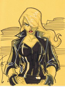 Black Canary by Hodges-Art