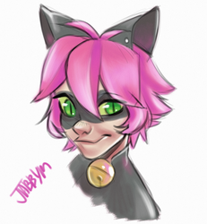 Chat Pink by Jabbym