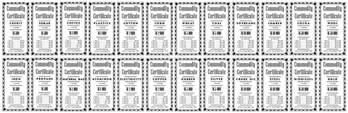 Commodity Certificates by Emmmmerz