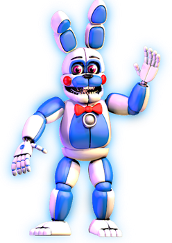 [C4d] Funtime Bonnie   Improved by LuckyRabbit31