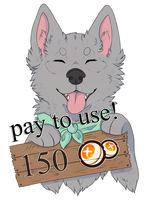 Canine Badge: $2 by lilyote