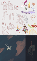 Sketch Dump 2 by ChocoHal