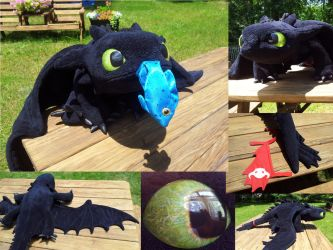 Toothless Plush #7 by Super3dcow