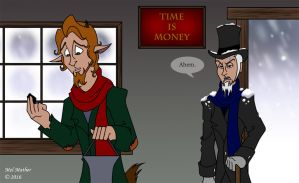 Alma The Younger Collab By Unicorn Skydancer08 Cratchit And Scrooge