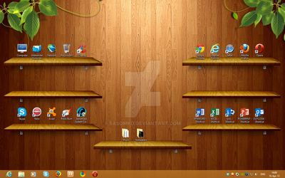 Desktop Windows 8 by sasomkd