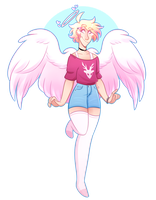 Cupid by frogtax