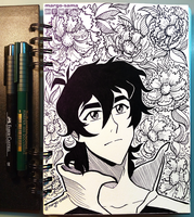 [Inktober] [VLD] Day 1 - Keith by Margo-sama