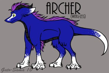 Orig - Archer 10' wingless by Gato-Sama