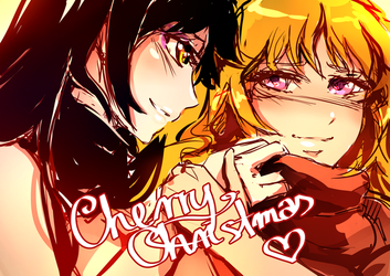 Bumblebee Christmasu by CherryInTheSun
