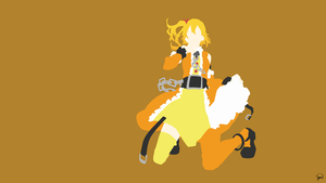 Momo Kisaragi (Mekaku City Actors) Minimalism by greenmapple17