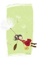 Arrietty, Airborne by nahsiah