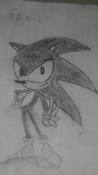 My First Sonic by chloedeathgod