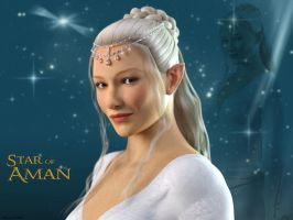 Star Of Aman by Edheldil3D