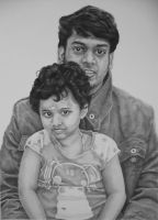 Asmi and Monkey Uncle by RTyson