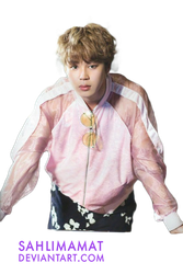 BTS - Jimin PNG by sahlimamat