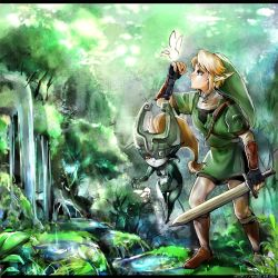legend of zelda by muse-kr