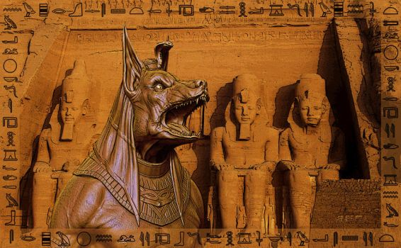 Anubis by mikepaul1
