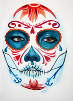 Sugar Skull by elethoniel