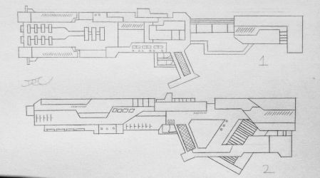 Weapons of the USN: Assualt Rifles 4 (Project A) by AngelOfNope