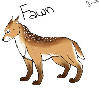 Fawn Character sheet by Juliaheartless