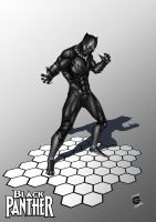 Black Panther by CAPTAIN-GAMMA