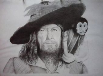 Hector Barbossa  by JeanLouise93