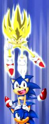 Sonic Bookmark by Tri-Jean