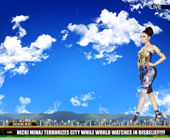 Giantess Nicki Minaj (GIGA Nicki Minaj @12,000 FT) by Multiplexmovies
