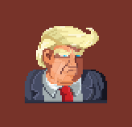 Donald J.Trump by PapsTheRadSkatist