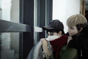 Yoonbum and  Oh Sangwoo - Killing Stalking cosplay by AlicexLiddell