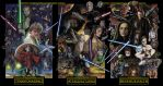 The Prequels Assembled by TheGeekCanPaint