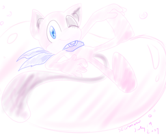 .:Contest:. Sonic styled Mew by SEGAMew