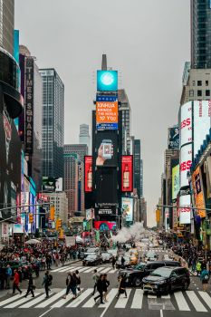 Time Square NYC by hessbeck-fotografix