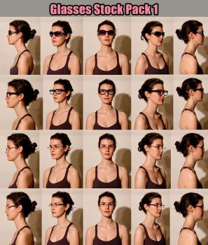 Glasses Stock pack 1 by RobynRose