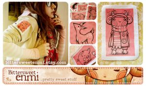 -BitterSweet- my patches by enmi