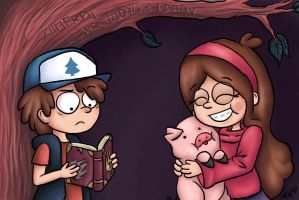 Gravity Falls by MewHarmonia