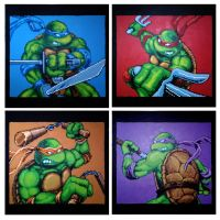 Heroes In A Half Shell by Squarepainter