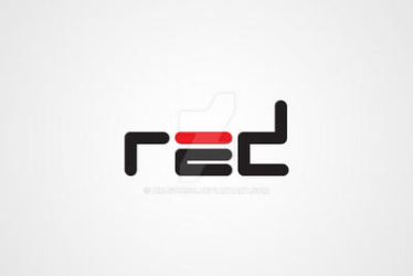 Red Logo Design by Dragonis0